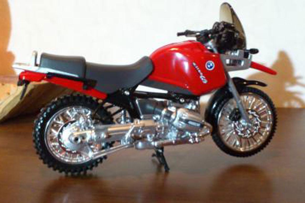 バイクの模型