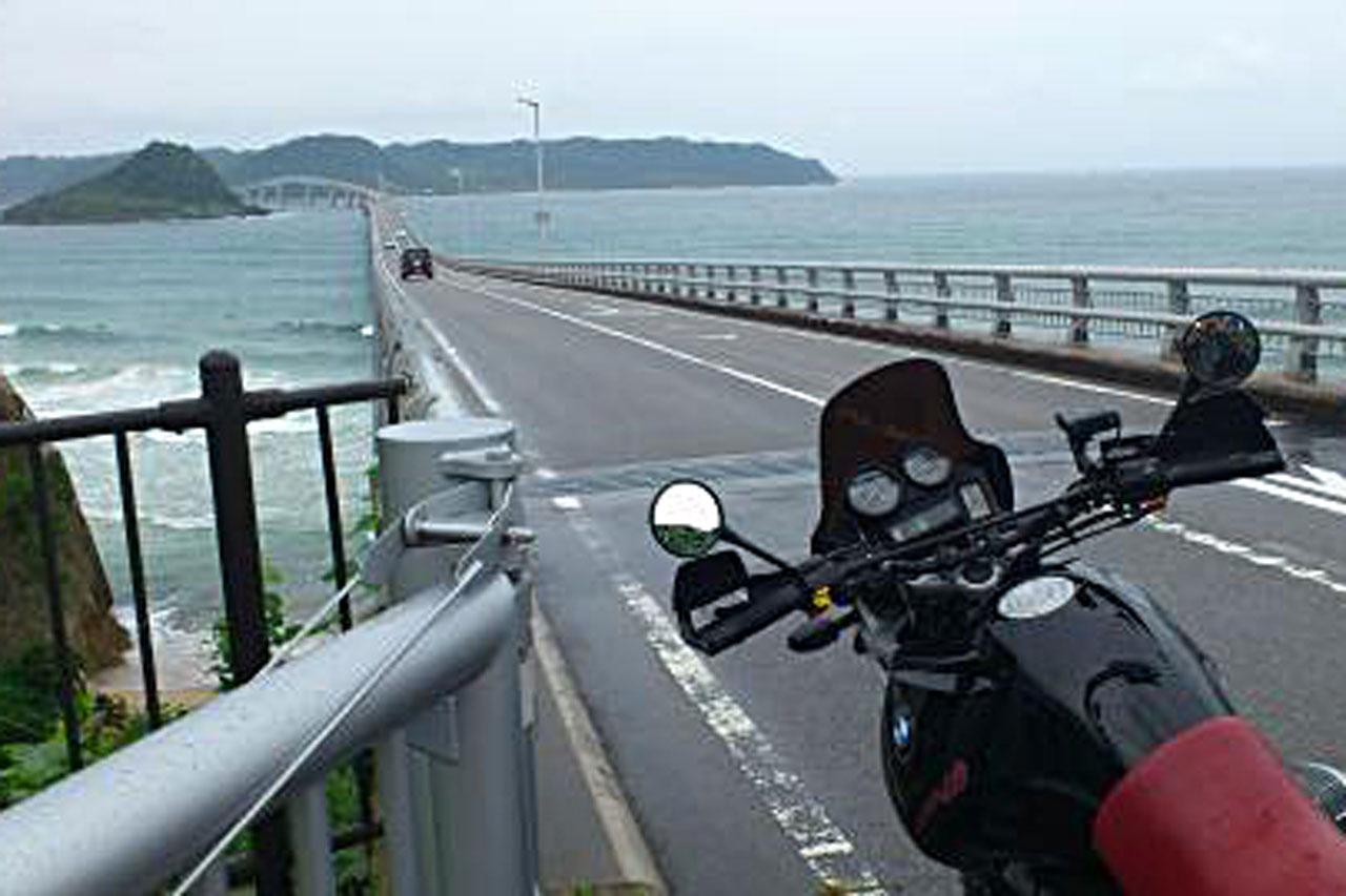 バイクツーリング 角島