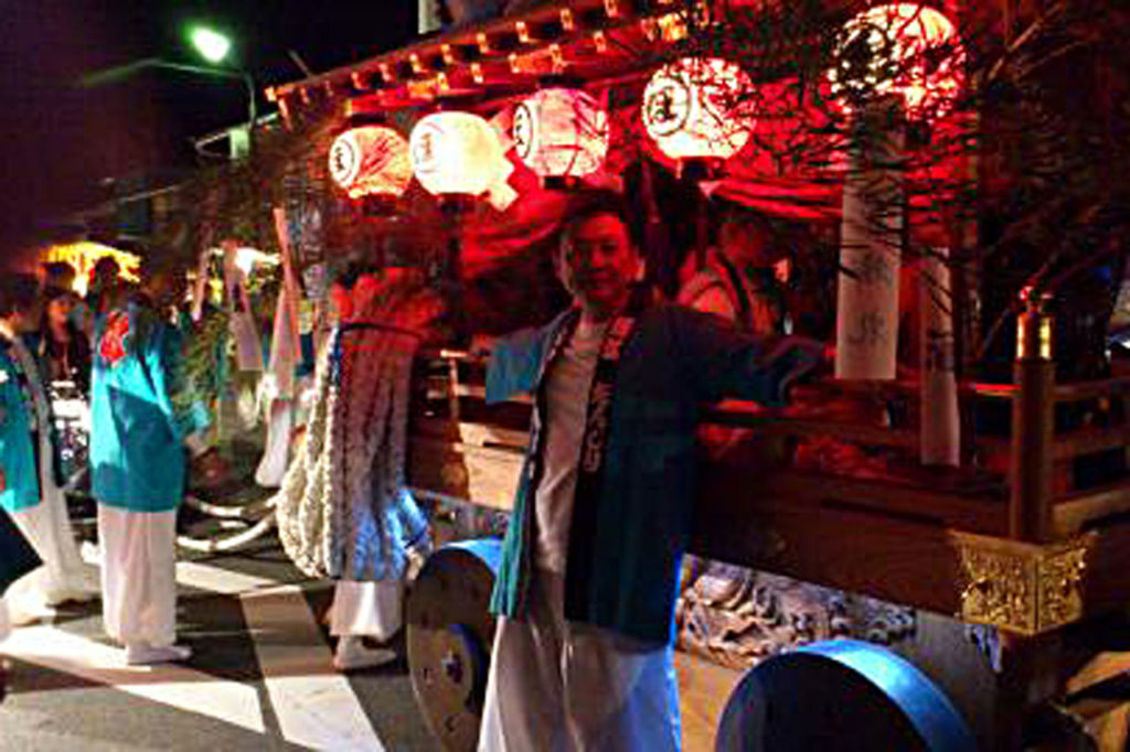 鴻八幡宮秋例大祭